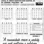 PARÓQUIA SÃO JUDAS TADEU - COMUNIDADE SANTA LUZIA